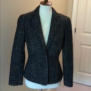 Ann Taylor marbled wool blazer size 6